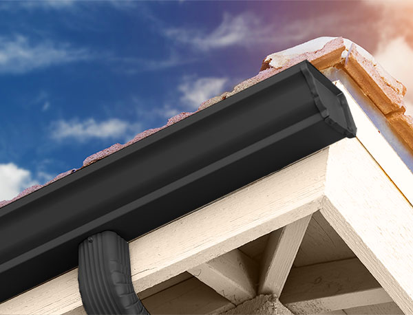 White House Brown Roof Exterior Paint